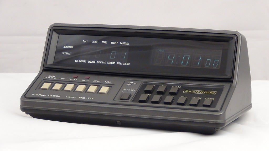 Kenwood HC-10 Clock