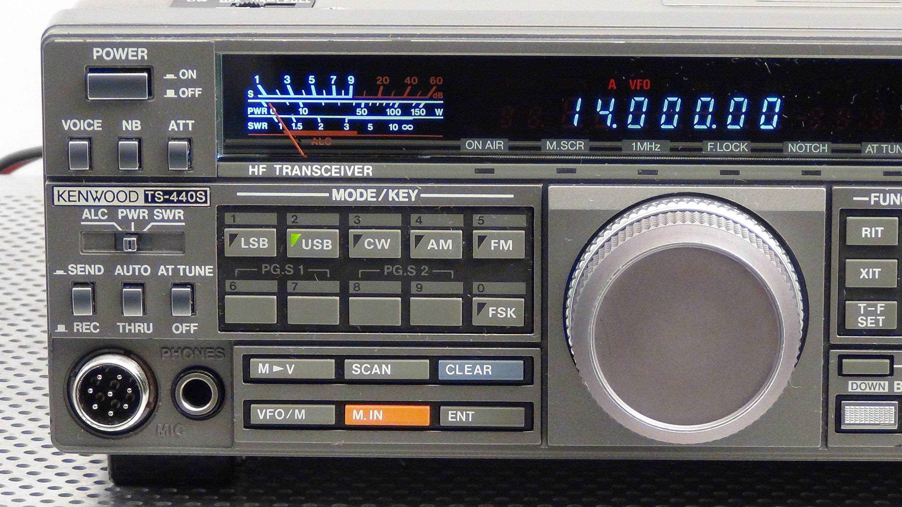 Kenwood TS440s Transceiver / Dot Problem and Keybounce Fixed!