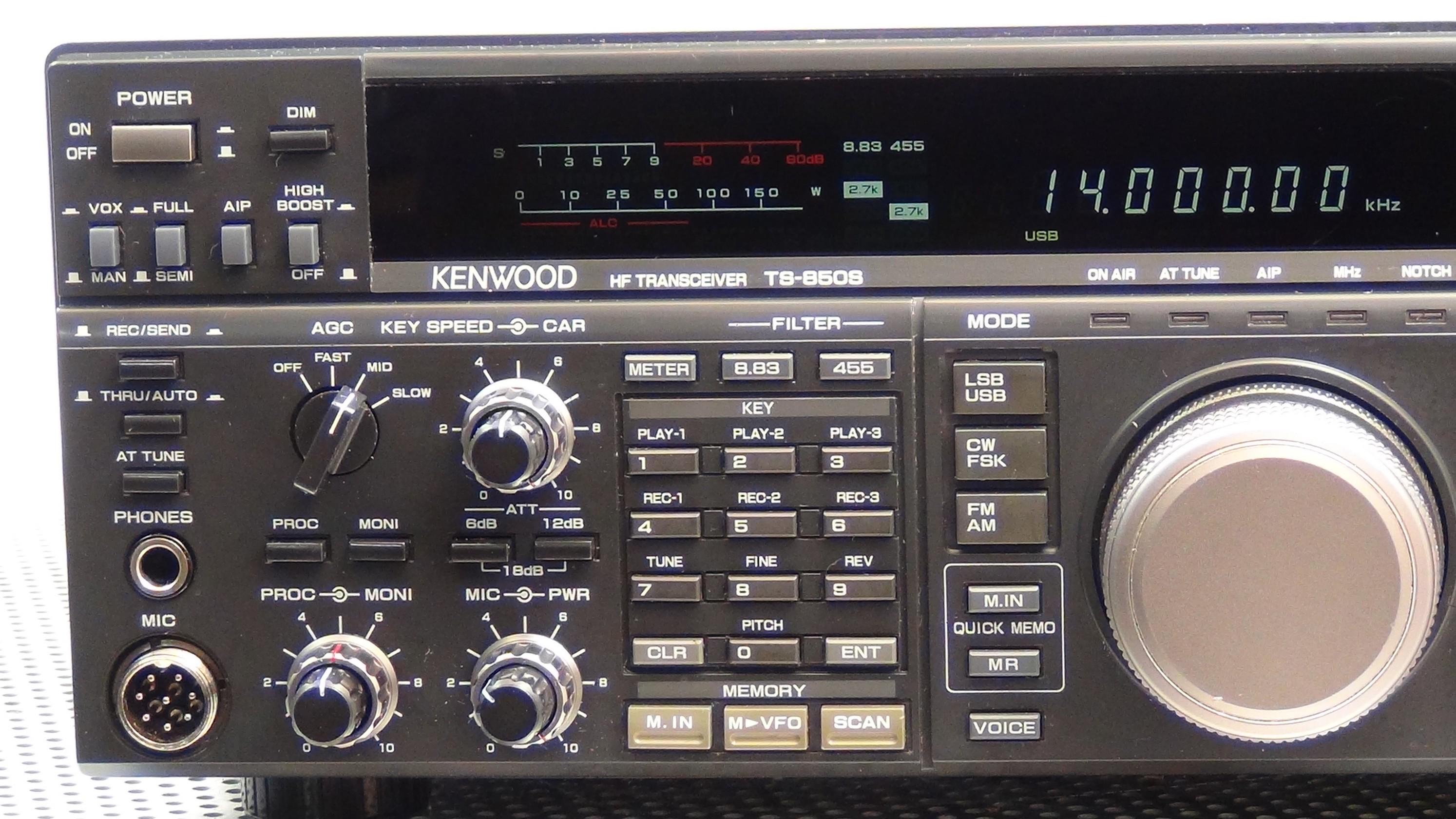 Kenwood TS-850SAT Transceiver