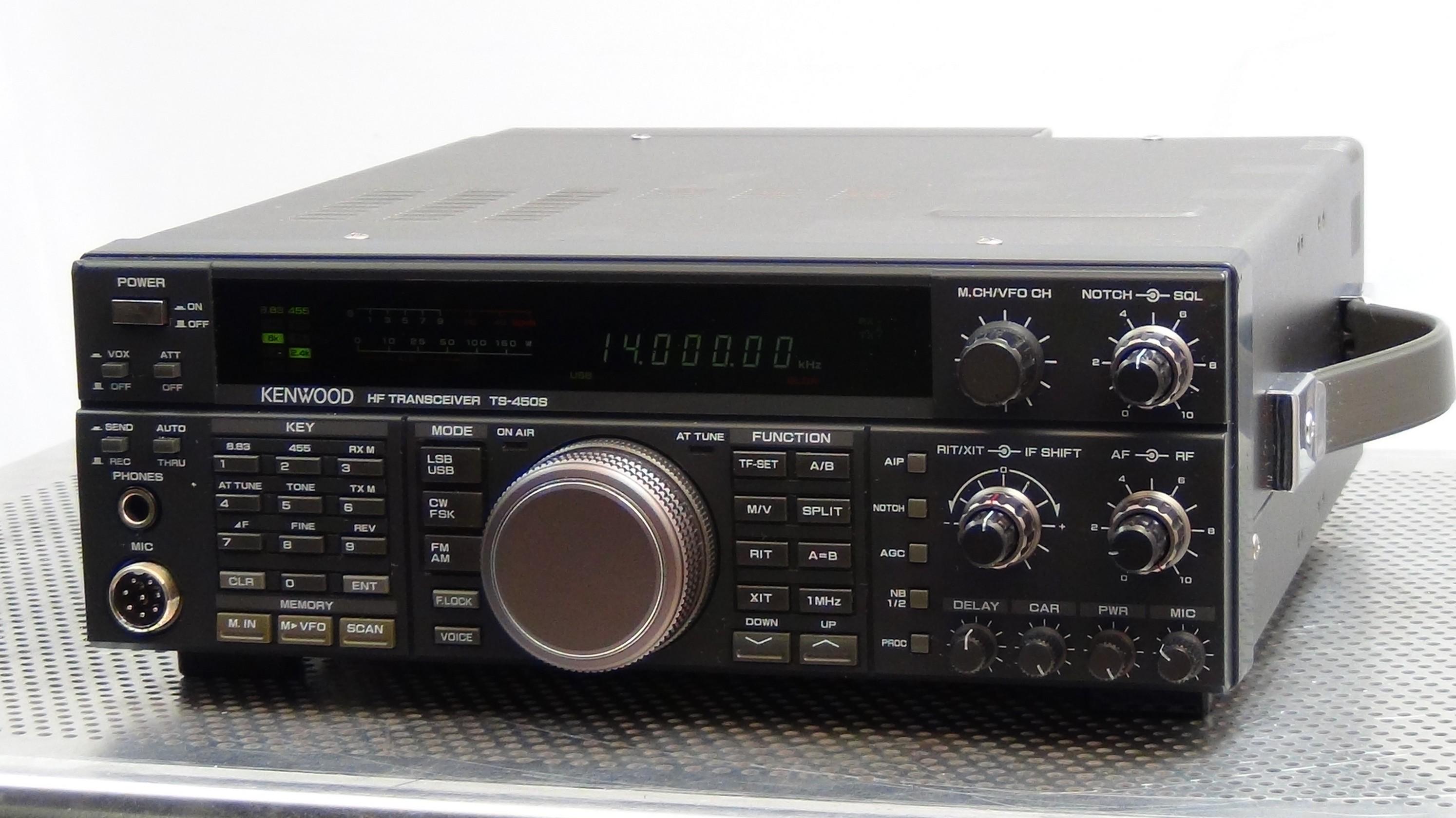 Kenwood TS-450SAT Transceiver